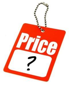 Цены в поиске WordPress