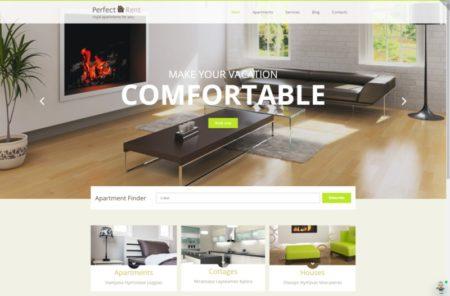 Шаблон для сайта по сдаче жилья посуточно
