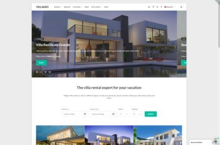 Продажа недвижимости шаблон сайта