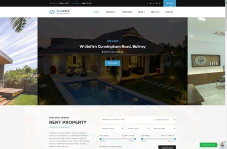 Подбор недвижимости шаблон сайта