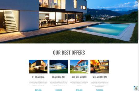 Шаблон по продаже недвижимости wordpress