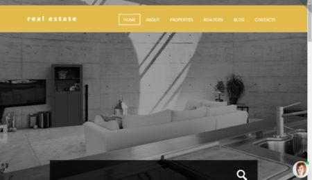 Сайт для риелтора шаблон