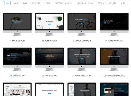 ТОП 25 готовых шаблонов сайта на WordPress