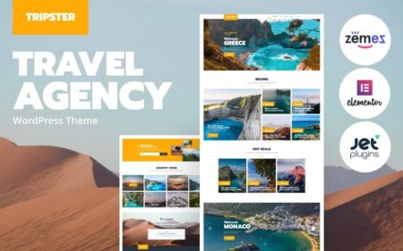 Готовые шаблоны для сайта туристического агентства, путешествий